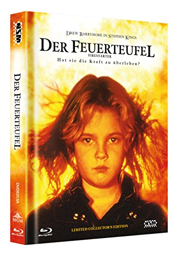 Der Feuerteufel - uncut (Blu-Ray+DVD) auf 666 limitiertes Mediabook Cover A [Limited Collector's Edition] [Limited Edition]
