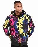 (プーマ)Puma ナイロンジャケット ウィンドブレーカー Seasonal Windbreaker Jacket Mサイズ Black/Multi(ブラック/マルチ柄)