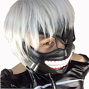 Amazon.com: Rulercosplay Tokyo Ghoul Kaneki Ken Cosplay Mask Halloween