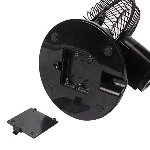 Table Fan Switches : Akaigu oscillating fan speed inch usb desk with up