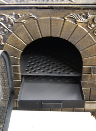 Deeco Dm 0039 Ia C Aztec Allure Cast Iron Pizza Oven
