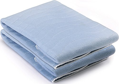 Utopia Bedding Sheet Protector Underpad (18 x 24 inches) - Highly Absorbent and Washable