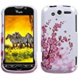MYBAT HTCMYTH4GHPCIM025NP Slim and Stylish Snap-On Protective Case for HTC My Touch 4G - Retail Packaging - Spring Flowers