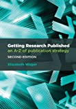 img - for Getting Research Published: An A-Z of Publication Strategy book / textbook / text book