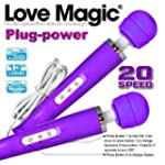 Love Magic Rechargeable Wand Massager...