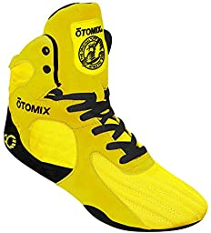 Otomix Yellow Stingray Escape Weightlifting MMA & Grappling Shoe Men\'s (8.5)