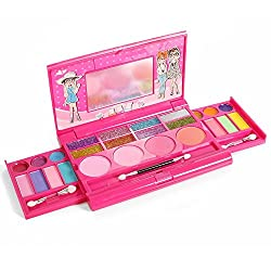 Princess Girls All In One Deluxe Makeup Palette With Mirror