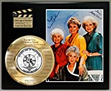 GOLDEN GIRLS LIMITED EDITION SIGNATURE AND LASER ETCHED THEME SONG LYRICS DISPLAY
