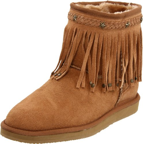 Aussie Dogs Women's Lolly Ankle Boot,Chestnut,5/6 M US