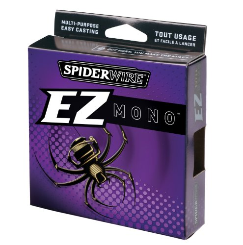 Spiderwire  EZ Mono 220-Yard Spool (Lo-Vis Green, Pound Test 12)