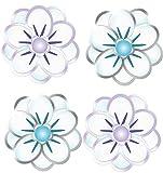 EK Success Brands Jolee's Boutique Dimensional Stickers, Felt Christmas Flowers [並行輸入品]
