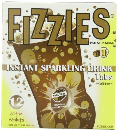 Fizzies Fizzies Instant Sparkling Drink Root Beer, 12-Count (Pack Of 6)