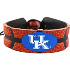 Buy Kentucky Wildcats Classic Basketball Bracelet by GameWear