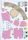 Owl Chic High Quality Animal Paper Craft Mini Model Easy Fun
