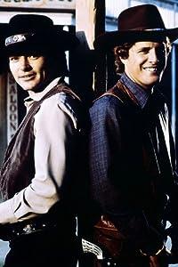 ALIAS SMITH AND JONES PETE DUEL BEN MURPHY 24X36 PHOTO POSTER PRINT