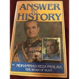 Answer to History ~ Shah of Iran Mohammad...