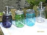 Mason Jar Soap Dispensers [small] by Cinagro Farm