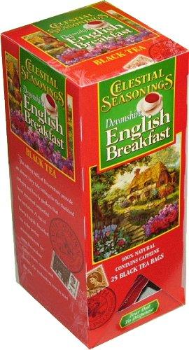 Celestial Seasonings, Devonshire English Breakfast, Fs, 25.00 Bag (Pack Of 6)