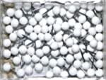1/8 Inch Map Tacks - White