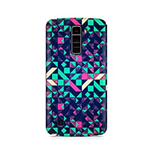 Mobicture Premium Printed Back Case Cover With Full protection For LG K7