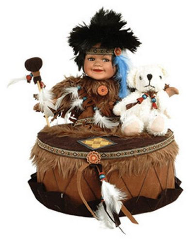Buy DYAMI 12in Native American w/Drum Doll Duck House ~ Retired