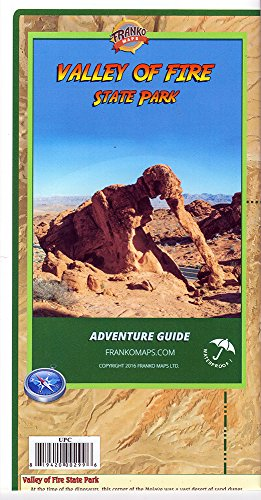 Valley of Fire State Park (Nevada) Adventure Guide and Map