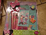DISNEY MINNIE MOUSE 12 PIECE STATIONERY SET GARDEN GALA