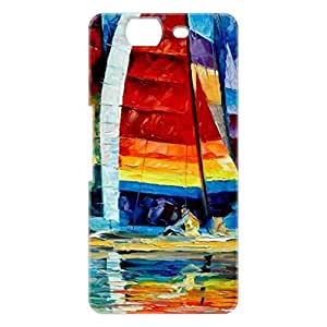 a AND b Designer Printed Mobile Back Cover / Back Case For Micromax Canvas Knight A350 (MIC_A350_3D_1629)