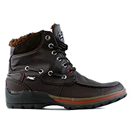 Pajar Men\'s Basel Snow Boot,Dark Brown,44 EU/11-11.5 M US