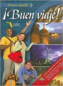 Buen Viaje - Glencoe Spanish 1 and 2 Student Textbook set (Hardcover, 2008)