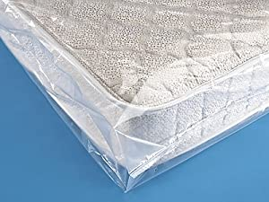 Twin Size Plastic Mattress Cover