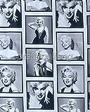 "72"" Marilyn Monroe Waterproof Fabric Shower Curtain"