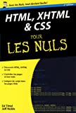 echange, troc Ed Tittel, Jeff Noble - HTML XHTML & CSS pour les nuls