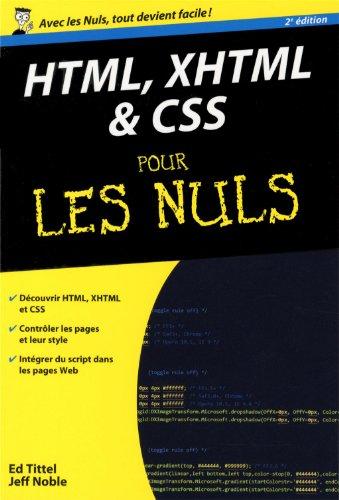 HTML, XHTML ET CSS POCHE POUR LES NULS,2ED