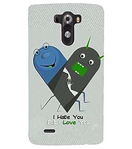 PRINTSHOPPII FUNNY CARTOON Back Case Cover for LG G3::LG G3 D855