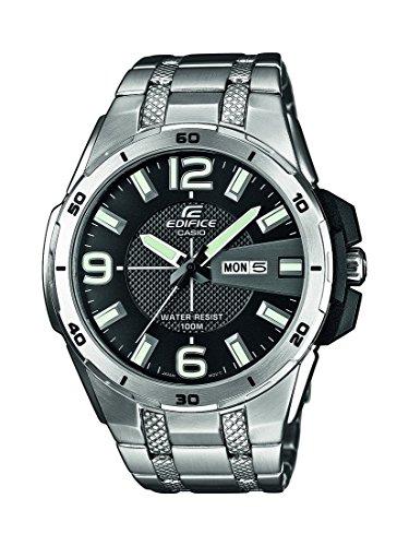 Casio Europe GmbH EFR-104D-1AVUEF - Reloj de pulsera hombre, acero inoxidable, color plateado