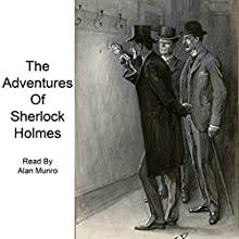 The Adventures of Sherlock Holmes Audiobook by Arthur Conan Doyle Narrated by Alan Munro