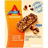 Atkins Day Break Hazelnut Crunch Bar - 4 x box of 5 (20 Bars)
