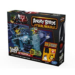 Star Wars - Juego diseño Angry Birds (Jenga Tie Fighter Hasbro A4804E24)