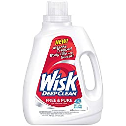 Wisk Ultra Free and Pure Detergent, 100 Oz