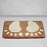 Story@Home Brown Royal 1 Pc Door or Bath Mat