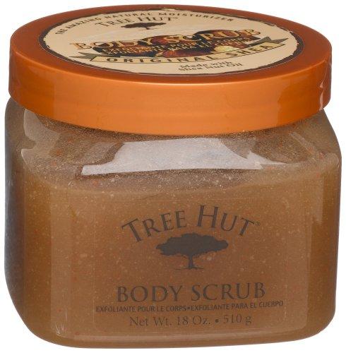 Tree Hut Body Scrub, Original Shea, 18-Ounce Jars (Pack of 3)