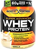 Body Fortress Super Advanced Whey Protein Powder, Vanilla, 2...