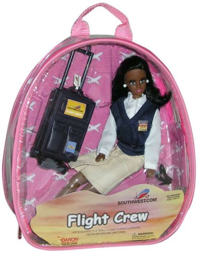 Southwest Airlines Flight Attendant Doll (African American) - Buy Southwest Airlines Flight Attendant Doll (African American) - Purchase Southwest Airlines Flight Attendant Doll (African American) (Daron Toys, Toys & Games,Categories,Dolls,Playsets,Fashion Doll Playsets)