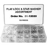 Maxpower 12020 700-Piece Lock Washer Assortment