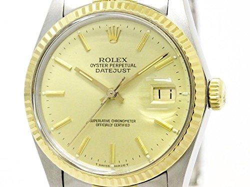 [ロレックス]ROLEX【ROLEX】ロレックス デイトジャスト 16013 イエローゴールド ステンレススチール 自動巻き メンズ 時計16013(BF108555)[中古]