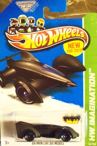2013 Hot Wheels Batman Live Batmobile Hw Imagination 65/250 1:64 Die-cast