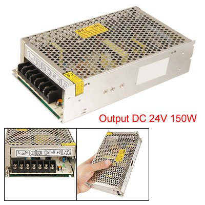 AC 110/220V DC 24V 6.5A 150W Switching Power Supply for LED Striplight ce rohs scn 600 24 single output switching power supply high quality 600w dc output 24v power supply