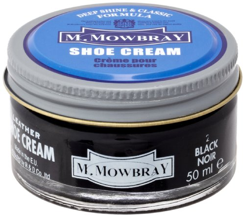 [エムモゥブレィ] M.MOWBRAY shoe cream jar 20241 (black)