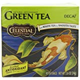 Celestial Seasonings Green Tea, Decaf, 40-Count Tea Bags (Pack of 6)
